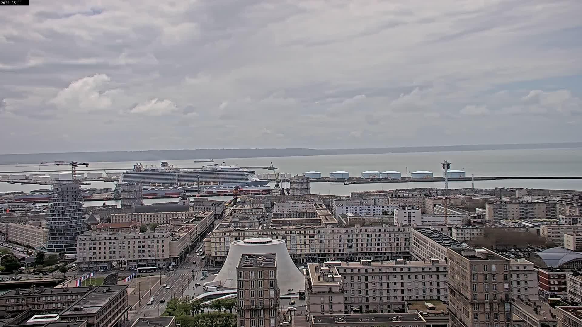 webcam Le Havre - Hôtel Mercure